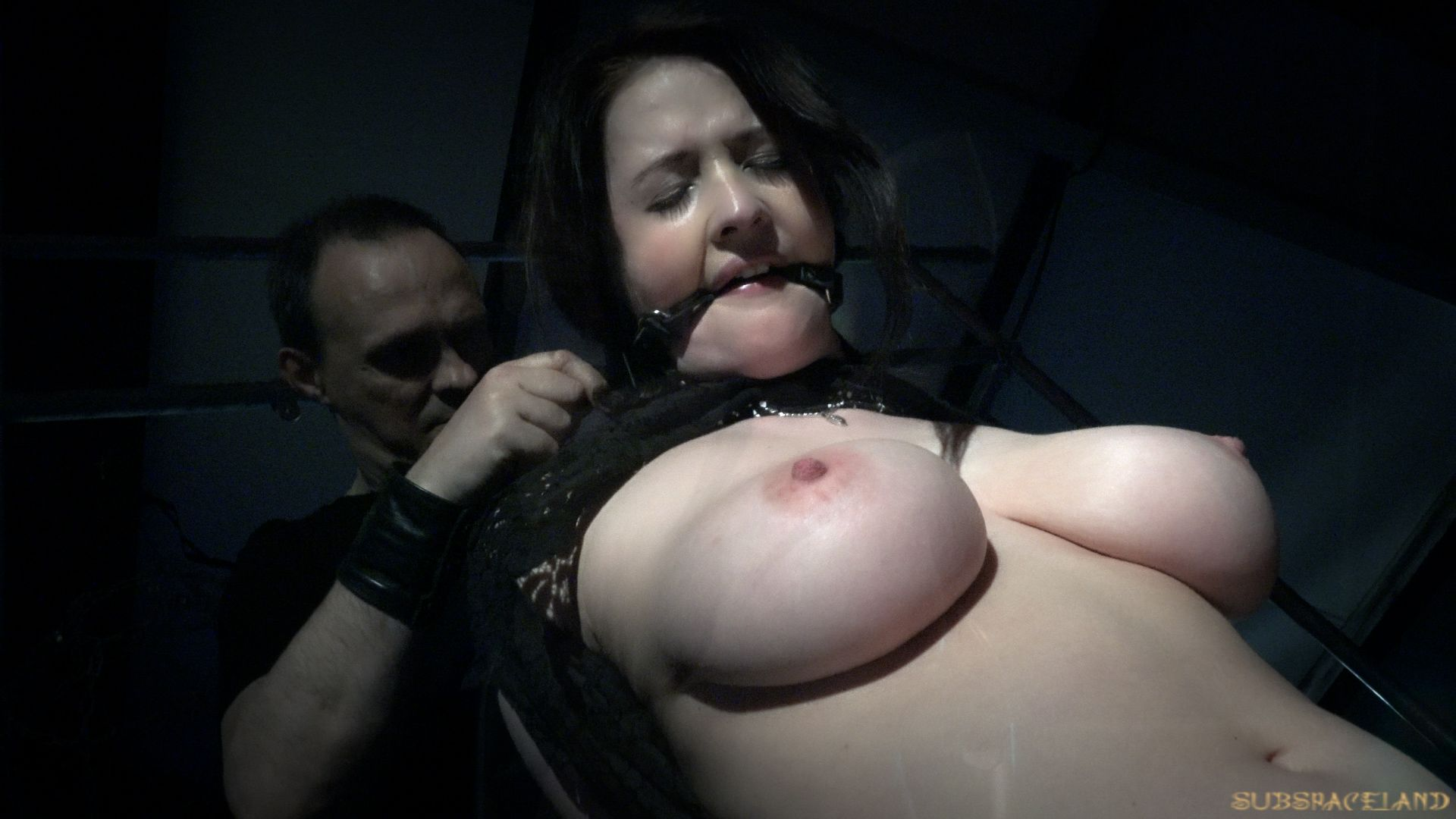 Submissive pretty girl is fucked hard in all her holes - 2 10