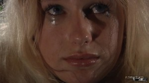 blonde slave bdsm sex slave crying tears