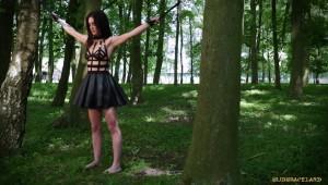 outdoor forest teen bdsm