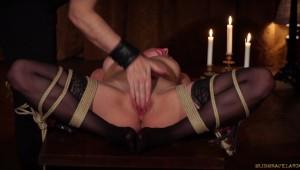 Pussy bondage touch