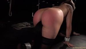anal plug submissive sex slave Alana Moon