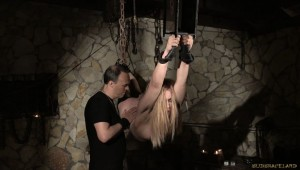 bdsm medieval torment Alana Moon suspension bondage