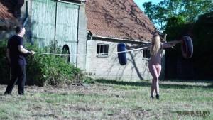 outdoor bondage humiliation porn