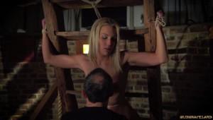 scratching bound slave