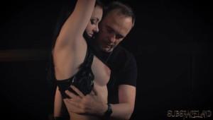 undressing slave