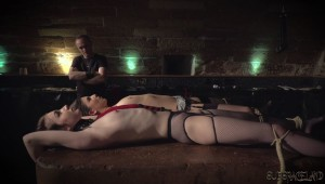 bondage on table