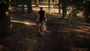 Wheelbarrow bdsm ride