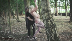 Outdoor spanking