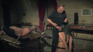 Deepthroat for slave