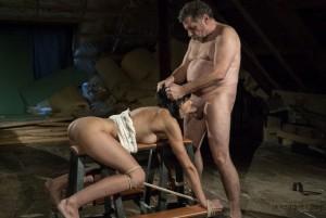 Slave forced deepthroat